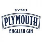 The logo of Plymouth Gin