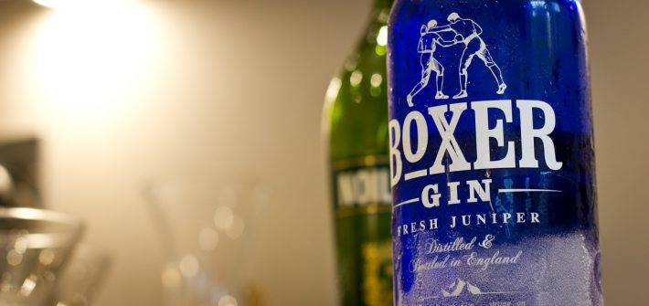 Header image of bottle of Boxer Gin