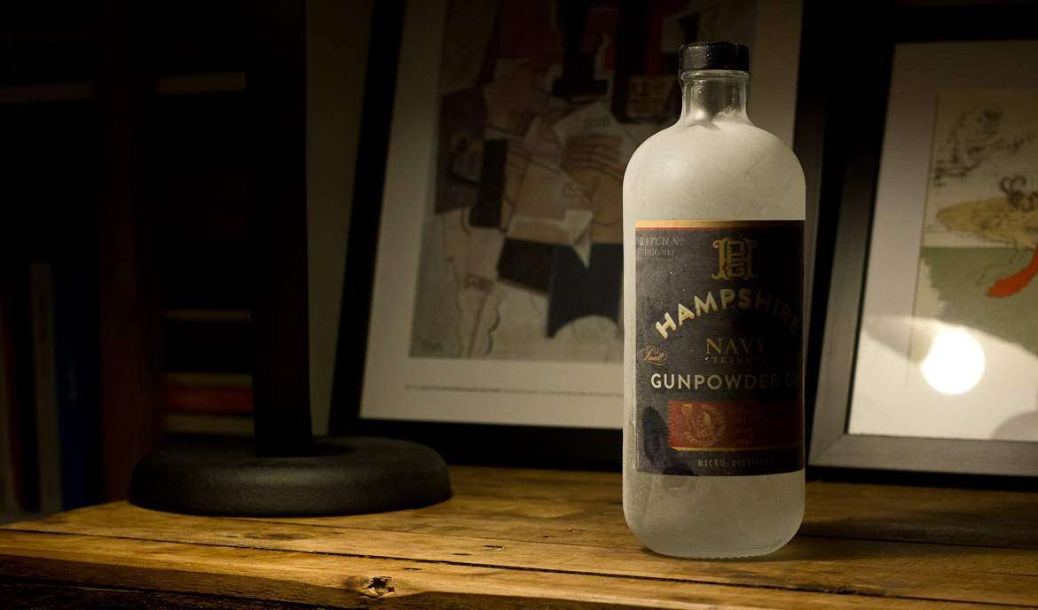 Hampshire Navy Strength Gunpowder Gin Review