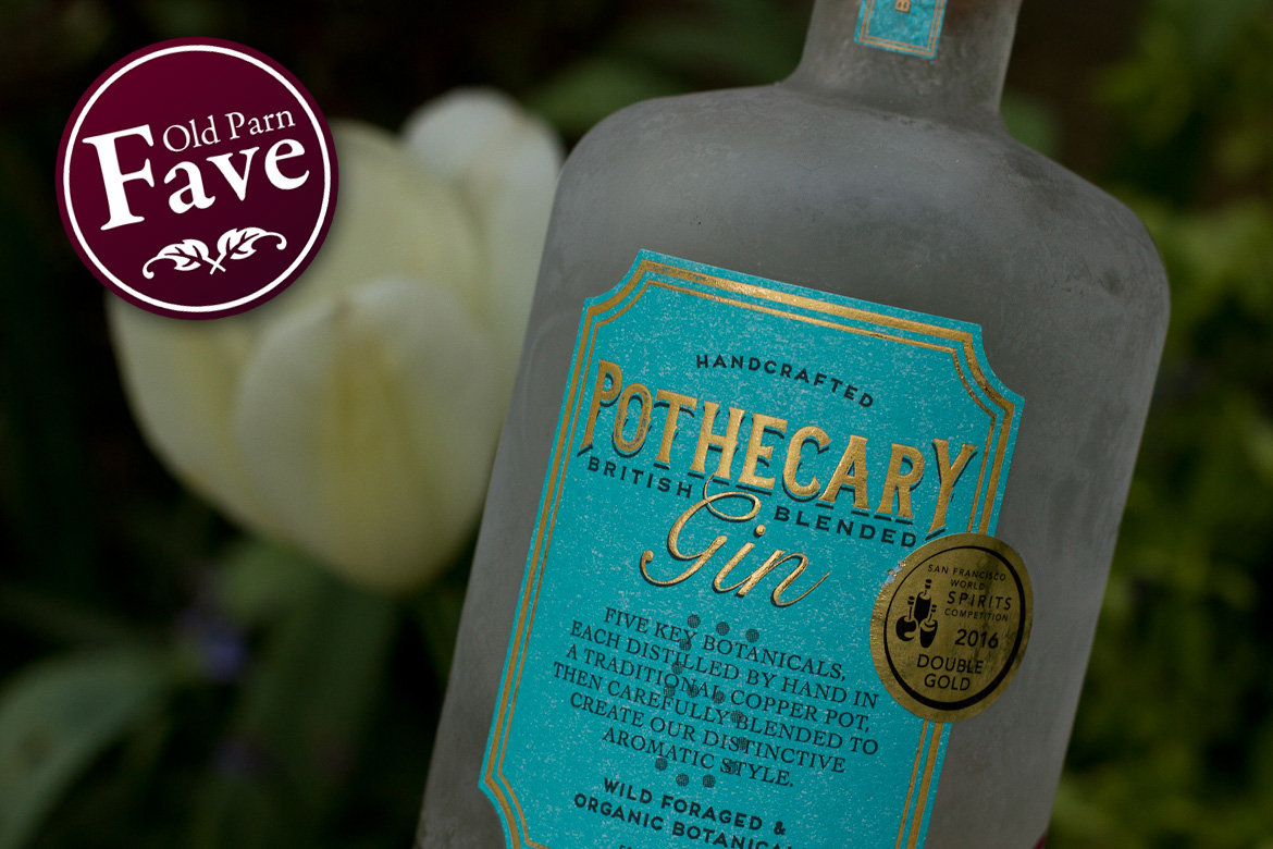 Bottle of Pothecary Gin